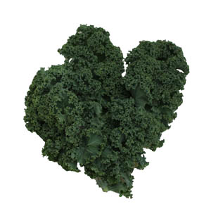 Kale can be supplied whole or sliced.
