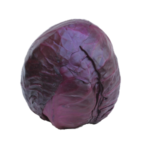 Red cabbage can be supplied whole or sliced